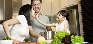 Cooking Together the Family-Day Way!