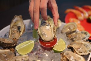 Oysters are an aphrodisiac...